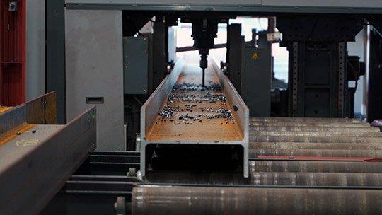 voortman drilling steel