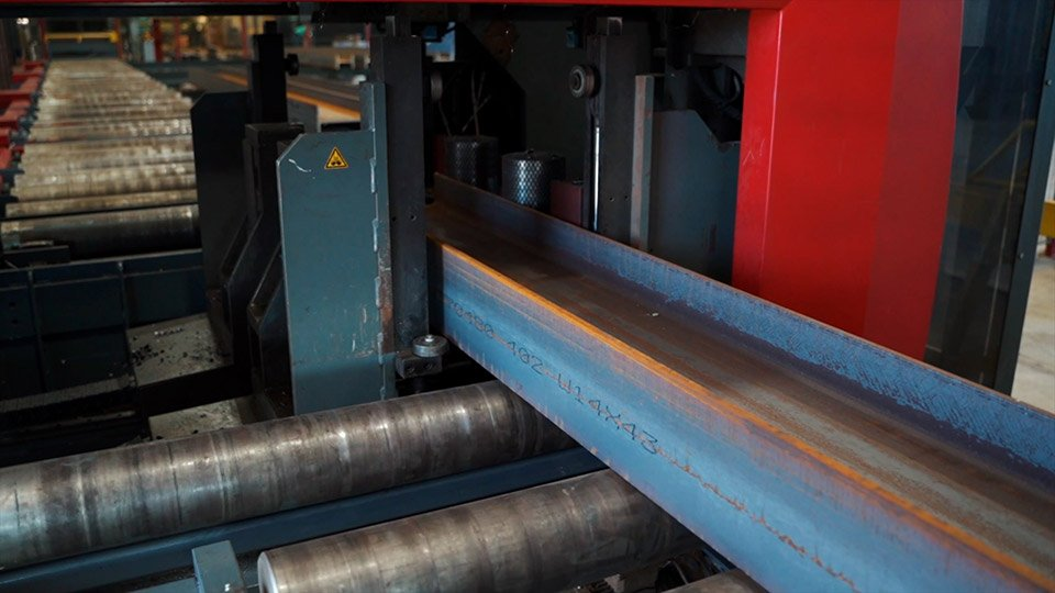 CNC structural steel processing