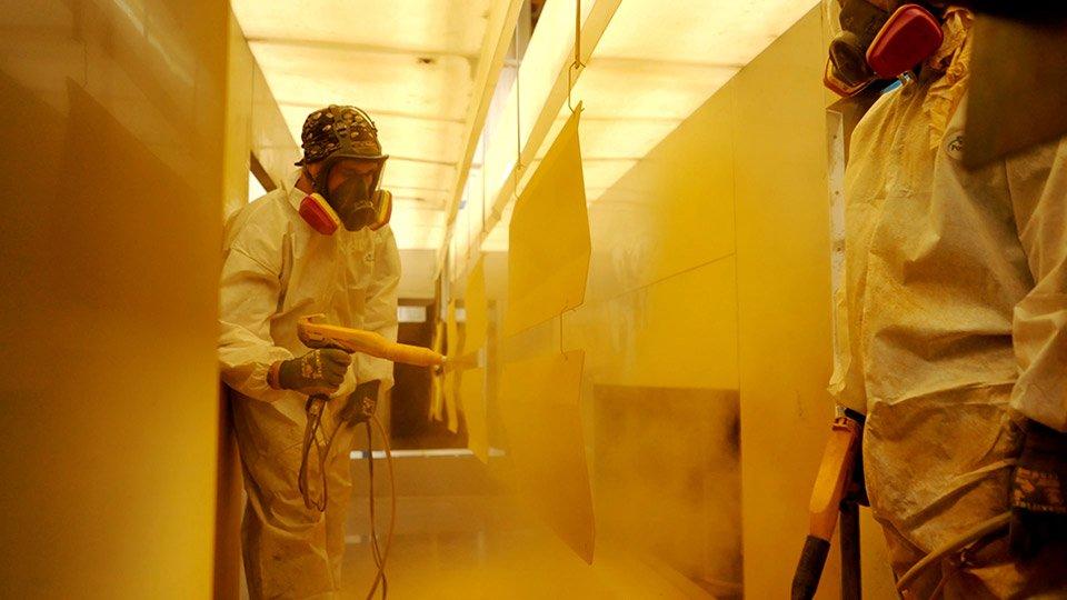 powder coating